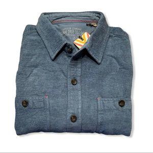 True Grit Beckham Long Sleeve Two Pocket Shirt
